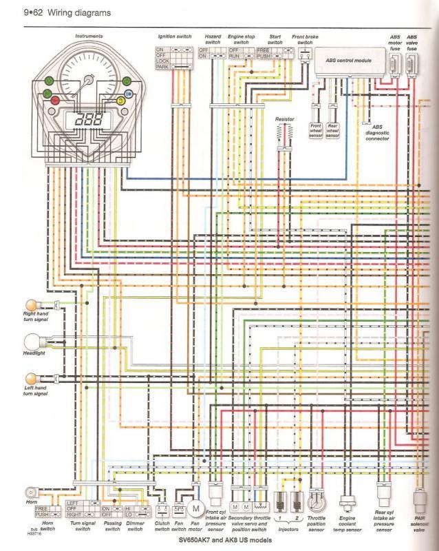 turn signal wiring | Suzuki SV650 Riders ForumSuzuki SV650 Riders Forum