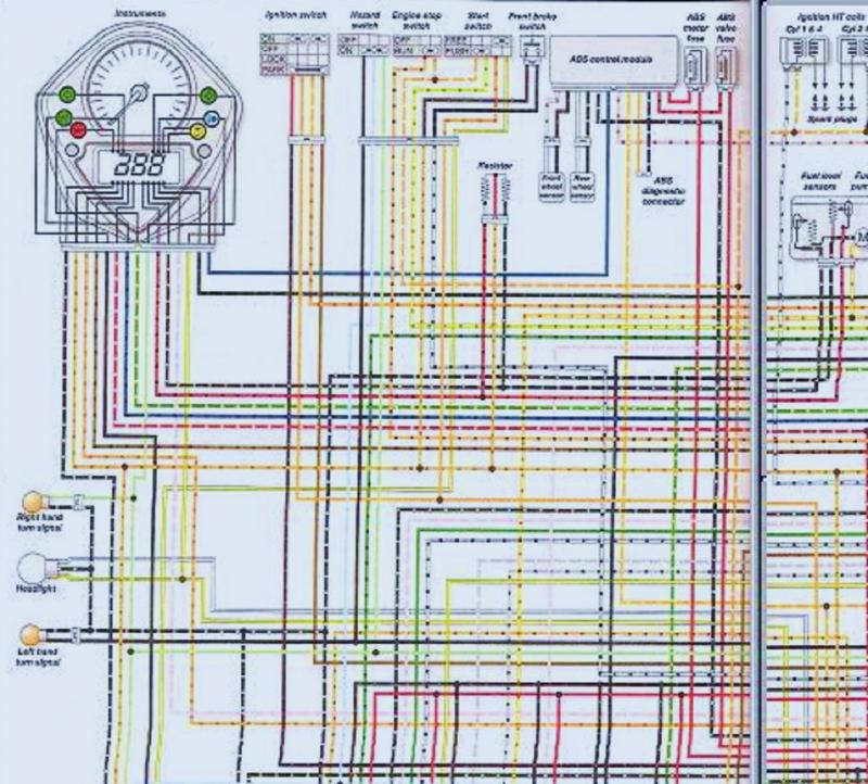 aftermarket gauge wiring suzuki sv650 forum sv650 sv1000 click image for larger version wiring kluge2 jpg views 1298 size