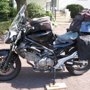 Gladius SFV650 luggage