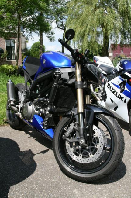 Suzuki Gladius Gsxr Front End Swap